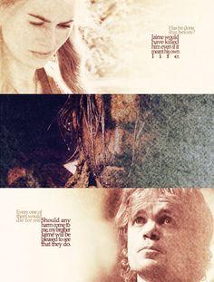 Fan Art of Jaime, Cersei & Tyrion for fans of Game of Thrones.     Live for Cersei.     Live for Tyrion.