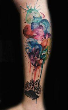 Inspire-se: tatuagens Pixar 03