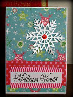 """Cartes de Noël """"boule à neige"""" - Créadanne"""