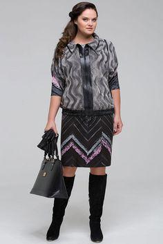 a37bf588bef Женская одежда больших размеров в стиле