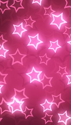 Pink Shiny Stars. iPhone Wallpapers Stars Pattern. Tap to check out more iPhone wallpapers! - @mobile9