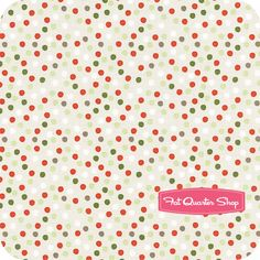A Merry Little Christmas Taupe Dot Yardage SKU# C3374-TAUPE - Fat Quarter Shop