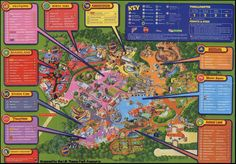 Seaworld orlando theme park map orlando fl mappery - Busch gardens florida resident pass ...