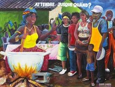 Find artworks by Cheri Cherin (Congolese, on MutualArt and find more works from galleries, museums and auction houses worldwide. Contemporary African Art, African Design, Congo, Black And Brown, Afro, Posters, Gallery, Artwork, Painting