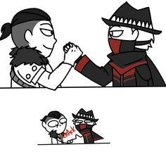 Do you think you can make a quick drawing of Kabal and Erron arm wrestling just for shits and giggles? Mortal Kombat Comics, Mortal Kombat Memes, Mortal Kombat Art, Scorpion Mortal Kombat, Tomb Raider Cosplay, Spideypool, Gurren Lagann, Comic Games, Cultura Pop