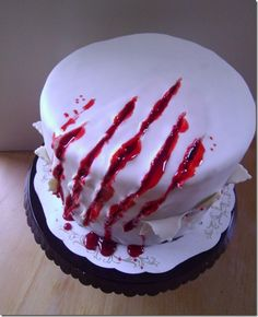 How to. Awesome cake for Halloween!