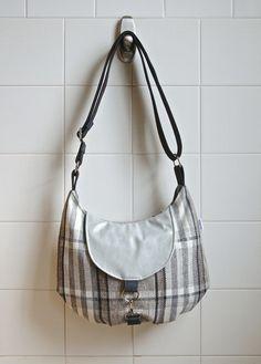 Medium Cross Body Messenger Bag in Brown Black Grey by bluecalla Longchamp, Cross Body, Messenger Bag, Black And Grey, Shoulder Bag, Tote Bag, Medium, Trending Outfits, Brown