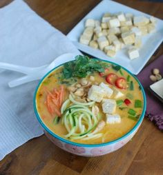 Thai Coconut Zoodle Soup   21 Healthy Soups That Will Keep You Warm And Full
