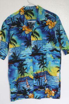 Hawaiian Shirt on eBay  #HawaiianShirt #ALohashirt #Hawaiian #shirt #Floral #Beach  #mensfashion #sailing #boating