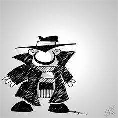 Hard Boioled, personagem para história em quadrinhos.