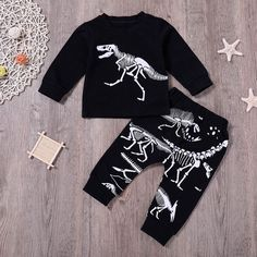 Boys' Clothing Toddler Infant Kid Baby Boy Clothes Dinosaur T-Shirt Tops+Pants Outfits Set Toddler Pants, Boys Pants, Toddler Outfits, Baby Boy Outfits, Toddler Boys, Baby Boy T Shirt, Baby Boy Tops, New Baby Boys, Baby Kids