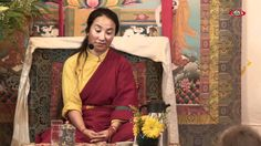 """Khandro La ~ Wisdom and Compassion...commonly known as Khadro-la, This Wonderful Video wasTaken in France in 2011,Khandro Lhamo Tseringma - She is the State Medium of the Tenma Oracle.The Tenma Goddesses are Twelve Guardian Deities in the Gelug order of Tibetan Buddhism. In hierarchy, they fall under Palden Lhamo, one of the eight Dharmapala deities.In Dharamsala, India, there is a Tenma oracle, for which a young Tibetan woman is the kuten, which literally means, """"the physical basis""""."""