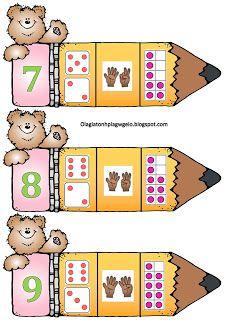 Όλα για το νηπιαγωγείο!: Μολύβια-αισθητοποίηση αριθμών-παζλ Preschool Learning Activities, Alphabet Activities, Kindergarten Math, Preschool Activities, Math Anchor Charts, Numbers Preschool, 1st Grade Math, School Themes, Math For Kids