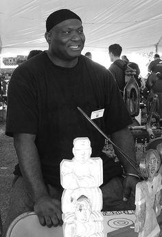 LaVon Williams, Kentucky Folk Artist Fayette County, Kentucky, Folk Art, Basketball, Van, Wood Carvings, History, Artist, People