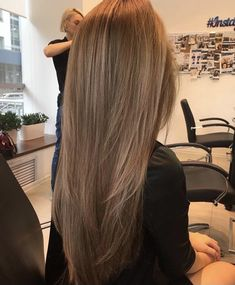 Long Wavy Ash-Brown Balayage - 20 Light Brown Hair Color Ideas for Your New Look - The Trending Hairstyle Hair Inspo, Hair Inspiration, Brown Blonde Hair, Light Brunette Hair, Light Hair, Balayage Hair, Haircolor, Gorgeous Hair, Hair Looks