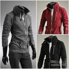 2013 men's fashion style jacket for men hoddies available free shipping