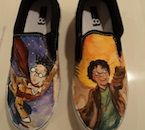 Harry Potter Shoes. I WANT THESE