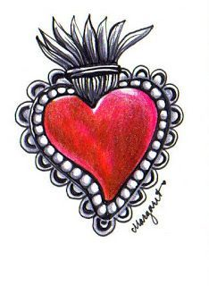 Sagrado corazon art
