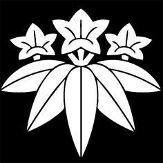 笹竜胆 ささりんどう Sasa Rindou. The design of bamboo and Japanese gentian.
