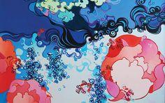 """Saatchi Art Artist: Ye Zhou; Oil 2008 Painting """"Beyond The Sumeru No.1"""""""