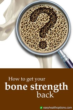 The right kind of weight-lifting exercises and certain jumping workouts can tighten up bone density and increase your bone mass. Osteoporosis Exercises, Health And Wellness, Health Fitness, Planet Fitness, Bone Strength, Weight Lifting Workouts, Body Workouts, Health Options, Bones