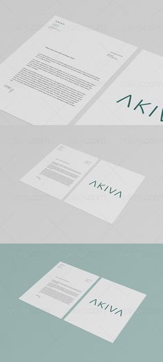 Multipurpose mock up for letterhead, flyer and poster (A3, A4, A5). The background color is customisable. By using smart-objects you can change the design very easily   qeaql.com