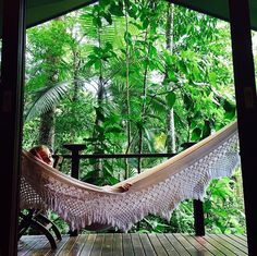 @kjelli72 making the most of some much needed time in a hammock  #treehouse #hammocklife #rainforest #exploretnq #tropicalnorthqueensland #mondaymotivation #hammock #retreat #luxurylodgesofaustralia #ecolodge by @silkyoakslodge
