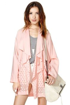 Pretty in Peach Jacket