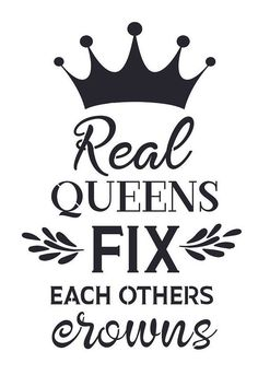 Details about stencil for sign pillow real queens fix each others crowns saying diy canvas Black Love Art, Black Girl Art, My Black Is Beautiful, Black Girl Magic, Black Girls, Queen Quotes, Girl Quotes, Woman Quotes, Magic Quotes
