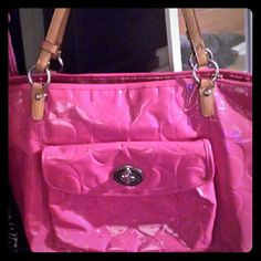 Authentic Coach Tote Type Large Bag