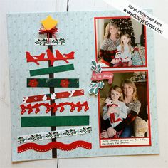 Karyn Crops | Scrapbooking Products & Inspiration / Scrapbooking Retreats & Workshops Christmas Scrapbook Layouts, Scrapbooking Layouts, Pumpkin Photos, Orange Paper, Cross Stitch Samplers, Creative Memories, Circle Pattern, Very Merry Christmas, Xmas Cards