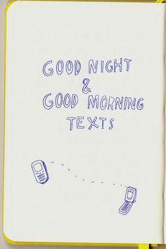 Good Night & Good Morning Texts