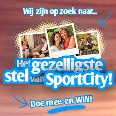Zijn jullie het gezelligste stel van SportCity?