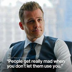 Harvey Specter Suits, Suits Harvey, Suits Quotes Harvey, Boss Quotes, Attitude Quotes, Mad Quotes, Harvey Spectre Zitate, Wisdom Quotes, Life Quotes