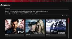 Showtime App for Ipad