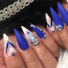 Stelito Nails, Coffin Nails Matte, Hot Nails, Fabulous Nails, Perfect Nails, Gorgeous Nails, Home Design, Natural Nail Art, Manicure And Pedicure