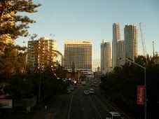 Gold Coast - looking down the Gold Coast highway Surfers Paradise towards my acupuncture clinic.  #goldcoast  #acupuncture