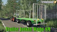 Joskin Wago trailer mod for Farming Simulator 19 game, pc version only. Brand: Joskin Price: 11 500 € Length: Total permissible weight under load: 10 Joskin Wago Monster Trucks, Farming