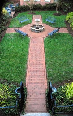 Prayer garden, Haymore Mem. Bapt.  Mt Airy, NC