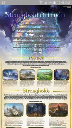 Stronghold Cyoa