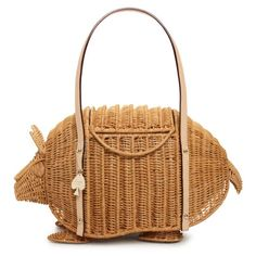 I already have a cute little Kate summer basket purse, but I may need to own TWO!  Armadillo Handbag from Kate Spade.