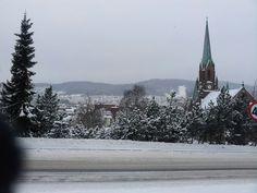 Beautiful winter day! Drammen, Norway Jan 2014