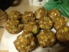 Healthy Turkey Meatloaf Muffins- made these tonight for 1st time and am so excited. I found recipe on bodybuilding.com on Jamie Easons live fit plan. They are so moist and flavorful!!!   Calories (per muffin): 181.9