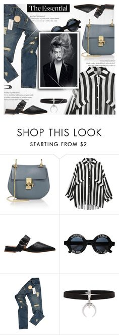 """""""Back-to-School Shopping!"""" by jiabao-krohn ❤ liked on Polyvore featuring Chloé, Chanel, Raf Simons and BackToSchool"""