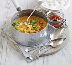 Quick prawn, coconut & tomato curry recipe - Recipes - BBC Good Food