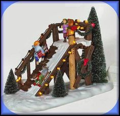 City Sledding NEW Department Dept. 56 Christmas In The City Village D56 CIC