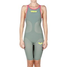 2fa793a17ca Arena Powerskin Carbon Air Womens Open Back Kneeskin - Arena Kneeskin.  SwimPath