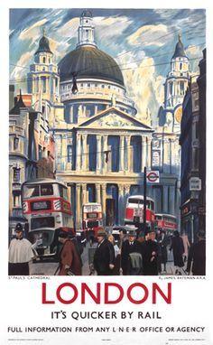 Londres en train