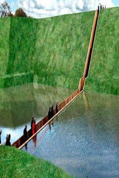 The Moses Bridge, Netherlands