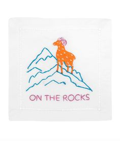 ON THE ROCKS COCKTAIL NAPKINS